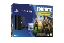 Sony Playstation 4 PRO 1TB (PS4) BLACK Fortnite Bomber Pack Edition