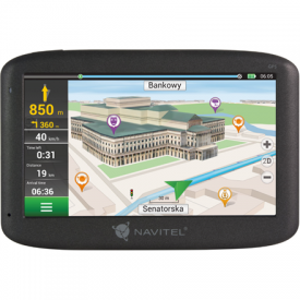 Navitel Personal Navigation Device E100 Maps included, GPS (satellite), 5 TFT touchscreen