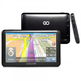 GoClever NAVIO 2 540 GCDN2540NR 5 TFT LCD, GPS (satellite), Maps included