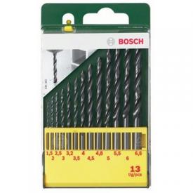 Bosch HSS-R Metal Drill Bit Set 13 pc(s)