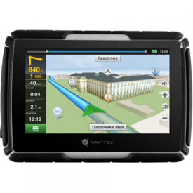 Navitel Personal Navigation Device G550 MOTO 4.3 TFT touchscreen, Bluetooth, Maps included, GPS (satellite)
