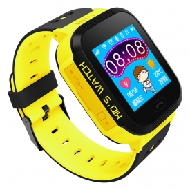 Išmanusis laikrodis ART Watch Phone Go with locater GPS – Flashlight Yellow